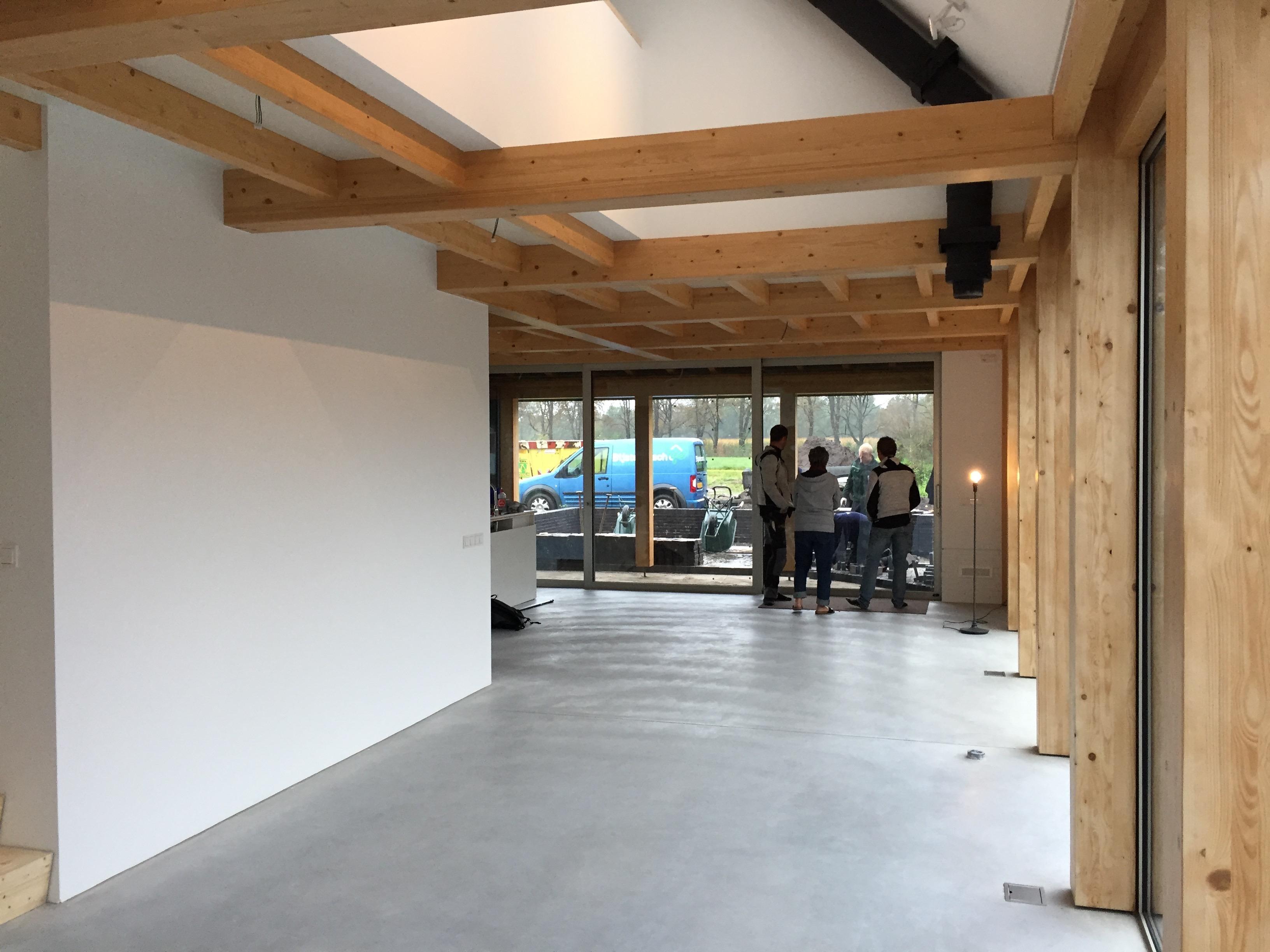 Interieur eerste schuurwoning landgoed \'t Rozendael - \'t Nijenhuis ...