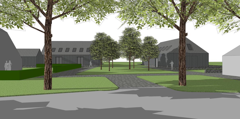 Twee vrijstaande nieuwbouwwoningen bij landgoed Rozendael – Het Nijenhuis