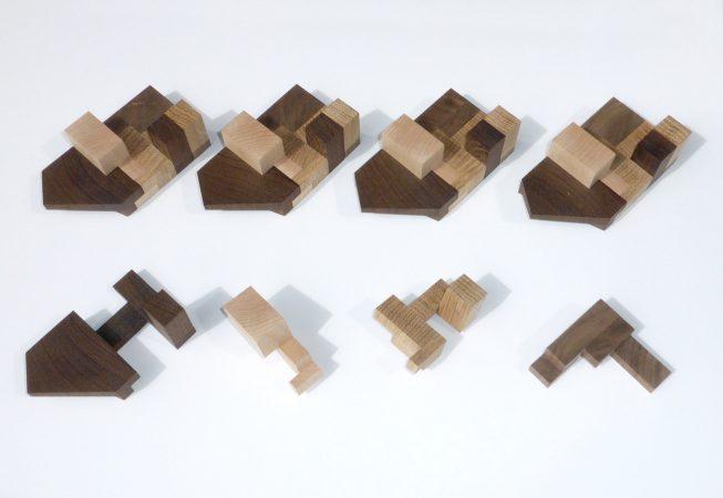 Houten conceptmaquettes LEVS Architecten
